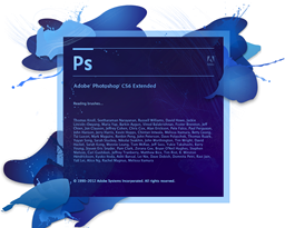 Photoshop CS6 Splash